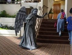 How to Make Weeping Angel Costumes – Costuming Tutorial | Celebration Generation: Food, Life, Kitties!