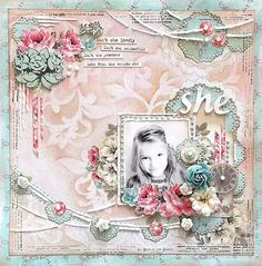 TSC Project by DT member Karola Witczak featuring The Bright Side Of Life collection.