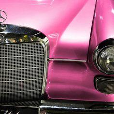 Pink Mercedes :-).....