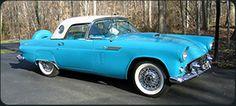 1955-57 Ford Thunderbird History by Dan Jedlicka