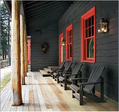 interesting porch..... love it