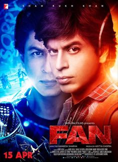 One of Shah Rukh Khan's fans revealed yet another poster of his film Fan which is really intense. - Fan new poster: Shah Rukh Khan spells DOUBLE TROUBLE! Hindi Movies, Srk Movies, Comedy Movies, Hindi Movie Song, Movie Songs, Movies 2019, Telugu Movies, Bollywood Stars, Trailer Song