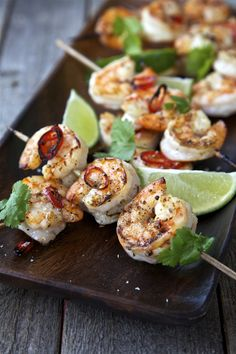 Honey Chilli Prawn Skewers | DonalSkehan.com, Time for a new addition to BBQ…