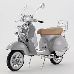 Bunney hits the streets with a custom Vespa.