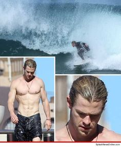 Chris Hemsworth -- The Ridiculously Ripped Tide
