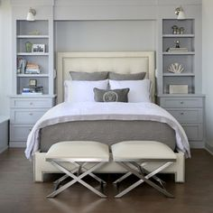 Transitional Bedroom by Normandy Remodeling