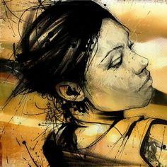 Mixed Media Illustration by UK artist Russ Mills Graffiti Murals, Mural Art, Amazing Paintings, Amazing Art, Abstract Paintings, Pablo Picasso, Beautiful Artwork, Cool Artwork, Surrealism Sculpture