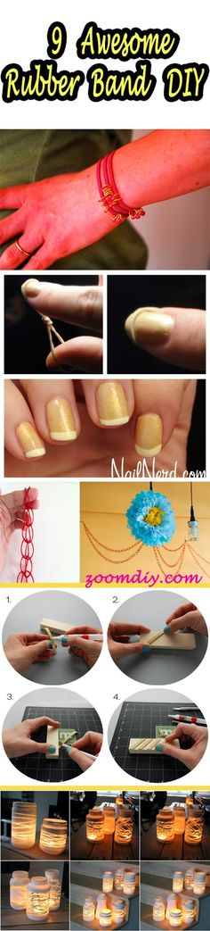 9 Awesome Rubber Band DIY You Never Knew It.