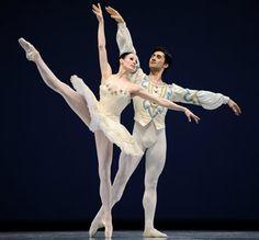 SF Ballet Theater - Balanchine's Themes and Variations.