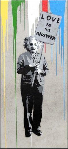Einstein (2015) Mr Brainwash, Einstein, Street Art, Joker, Artsy, Baseball Cards, Living Room, Artwork, Fictional Characters