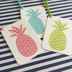 Hey, I found this really awesome Etsy listing at https://www.etsy.com/listing/237999902/10-pineapple-gift-tags-with-ties-you