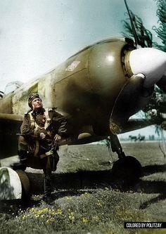 Bits of History  Russian airman WW II