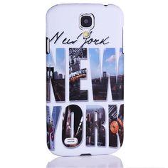 New York streetview hard case telefoonhoesje voor Samsung Galaxy S4 - PhoneGeek.nl