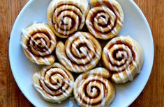 Transform the best homemade pizza dough from savory to sweet with this easy pizza dough cinnamon rolls recipe.