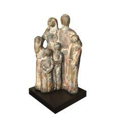 Escultura Familia 6