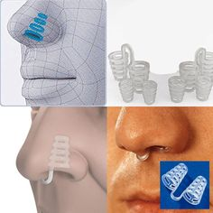 Professional Stop Snoring Nose Piece Anti Snore Clip Easybreathe Sleeping Device -- BuyinCoins.com