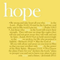 Hope is a beautiful, necessary thing. In the words of Mitch Albom at the end of Have a Little Faith, I am in love with hope. Word Up, Word Of God, Bible Quotes, Me Quotes, Food Quotes, Biblical Quotes, Friend Quotes, Queen Quotes, Bible Scriptures