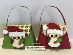 Stampin Up Petite Purse Be of Good Cheer DSP, Cardstock ,Christmas Punch Owl Kit   eBay
