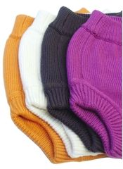 #7: Sustainablebabyish/Sloom knit wool covers are bulletproof when it comes to night time diapering. #clothdiapers #nopins