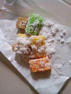 Getuk Lindri - Cassava Getuk / Recepi