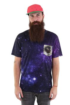 Spaced Out Pocket Tee by Beloved Shirts
