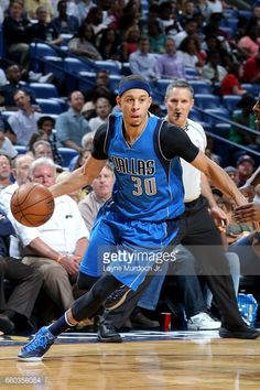 286c15a33 Seth Curry of the Dallas Mavericks handles the ball during the game.