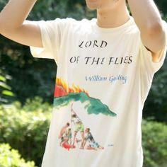 ウィリアム・ゴールディング「蝿の王」 Tシャツ
