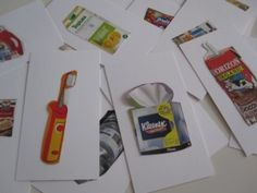 Recycling Think and Sort Game - No Time For Flash Cards
