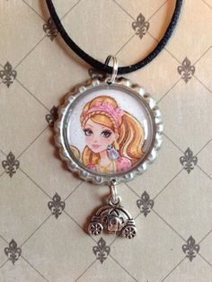 Ever After High Blondie Lockes First Chapter Replacement Purse Heart Locket Gold