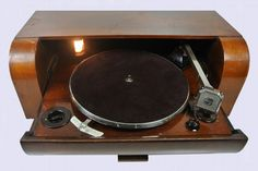 Philips 3794 slide-out record player. #recordplayer #turntable #philips http://www.pinterest.com/TheHitman14/the-record-player-%2B/
