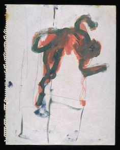 Francis Bacon - Falling Figure c.1957-61