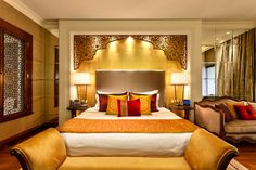 Indian Home Decor Designs Cool Relaxing Modern Bedroom Design Decorating Ideas With Indian Style 26 Indian Bedroom Design, Modern Bedroom Design, Master Bedroom Design, Bed Design, Indian Bedroom Decor, Bedroom Designs, Diy Bedroom, Modern Bedroom Furniture, Furniture Design