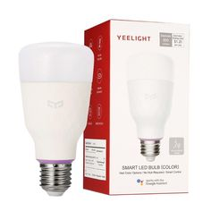 Xiaomi Yeelight E27 LED Smart Bulb E27 Bluetooth Licht Glühlampe APP Steuerung