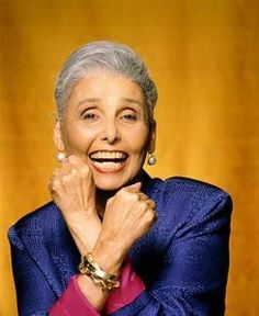 """Lena Horne is one excellent example of how to grow old, feel beautiful, and stay relevant with grace. One of her most famous quotes is """"it's so nice to get flowers while you can still smell the fragrance."""" Her sentiment encourages us to appreciate the gifts and love given to us by others because one never knows how much longer we have to do so. Life is not guaranteed. Lena lived 93 wonderful years, here's hoping that we live just as long.June 30, 1917 – May 9, 2010"""