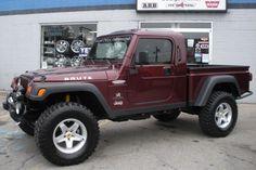 2002 Red Jeep Wrangler Sport Brute Conversion