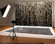 Gold Spot Photography Backdrops Wedding Photo Booth Prop Bridal Show Background for Picture Graduation Prom Party Backdrop Black Sequin Pattern Fabric Backdrops Prom Backdrops, Picture Backdrops, Backdrops For Parties, Backdrop For Photobooth, Graduation Backdrops, Backdrop Ideas, Glitter Photography, Background For Photography, Photography Backdrops