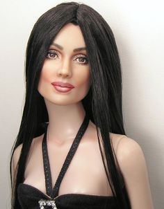 One of a Kind Dolls, OOAK Celebrity Dolls, Realistic Portrait Doll Repaints and Custom OOAK Dolls by Artist Pamela Reasor Monster High, Vintage Barbie, Barbie Makeup, Realistic Dolls, Beautiful Barbie Dolls, Celebrity Portraits, Doll Repaint, Barbie Collection, Barbie World