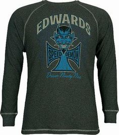 Carl Edwards Charcoal Thermal Long Sleeve Tee by RacingGifts. $36.00. Quality made with outstanding graphics, these long sleeve shirts are durable, comfortable, and warm. They make a great gift idea for any racing fan. Show your racing team pride....order one today while they last!
