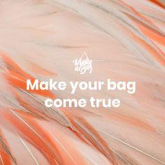 Make your bag come true What You Can Do, How To Make, 2017 Design, Popular Handbags, Tool Design, You Bag, Bag Making, Apple, Make It Yourself