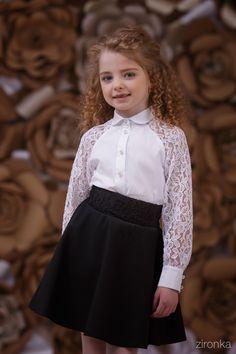 Блузка для девочки 3642-1