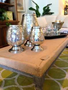 Mercury Glass Votives - $198 for set of 3