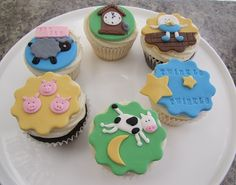 Nursery Rhymes Cupcakes