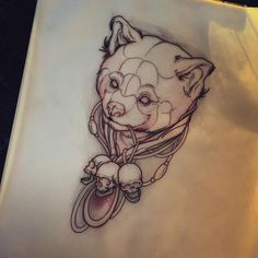 I had a cancellation tomorrow so i'd love to do something cool. This red panda is up for grabs for a discounted price only tomorrow #tat #tattoo #tattoos #tattoosketch #tattoodesign #inked #perth #wa #australia #art #drawing #sketch #flash...