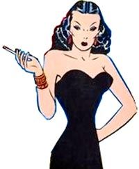 Dragon Lady by Milton Caniff