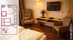 Hotel SIMON - Einzelzimmer  SUPERIOR Office Desk, Corner Desk, Furniture, Home Decor, Single Divan Beds, Homemade Home Decor, Desk, Corner Table, Home Furnishings
