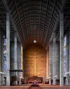 St Antonius, Basel, Switzerland, completed 1927 Architect: Karl Moser