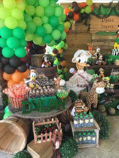 Mickey Mouse Safari Birthday