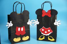 Regalos Mickey Mouse, Mickey Mouse Party Favors, Minnie Mouse Birthday Decorations, Mickey Party, Mickey Mouse Y Amigos, Red Minnie Mouse, Mickey Mouse Clubhouse, Minnie Birthday, 2nd Birthday