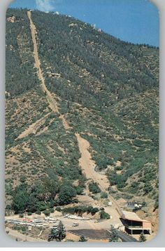 Manitou Incline located in Manitou Springs. The kids and I hiked this a few years ago-planning on doing it again this summer.