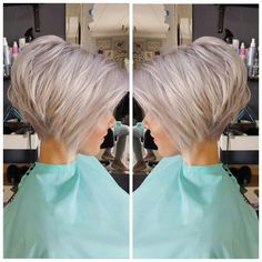Are you looking for Medium Hair Cuts With Layers For Women See our collect. - - Are you looking for Medium Hair Cuts With Layers For Women See our collection full of Medium Hair Cuts With Layers For Women 2018 and get inspir. Bob Haircuts For Women, Best Short Haircuts, Short Stacked Bob Haircuts, Short Stacked Bobs, Layered Bobs, Popular Haircuts, Medium Hairstyles, Short Bob Hairstyles, Hairstyles 2018